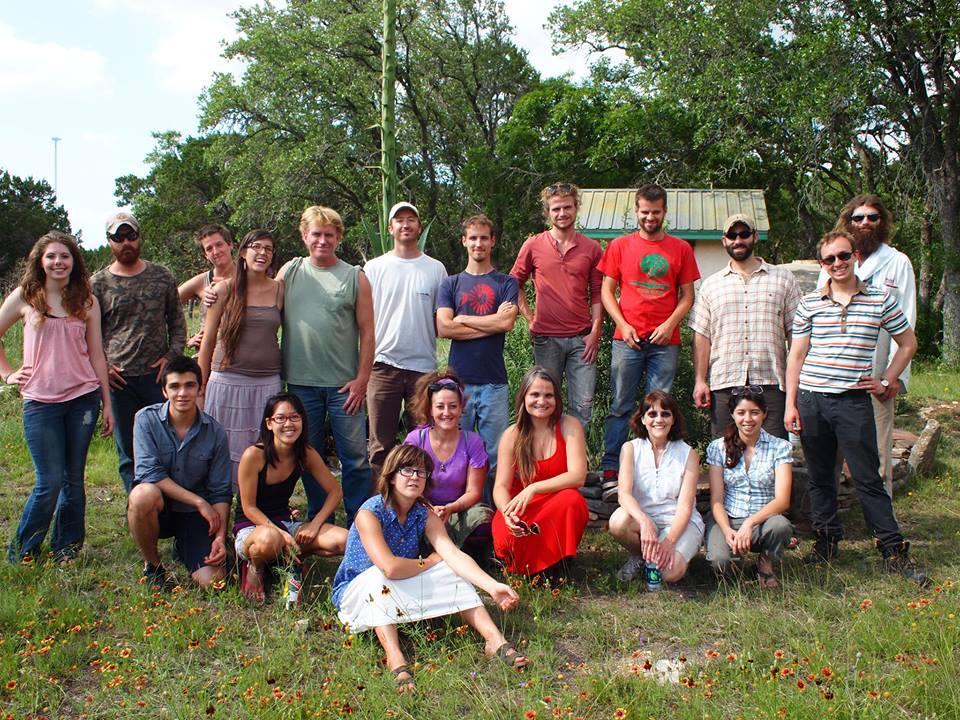 Permablitz Posse practices permaculture